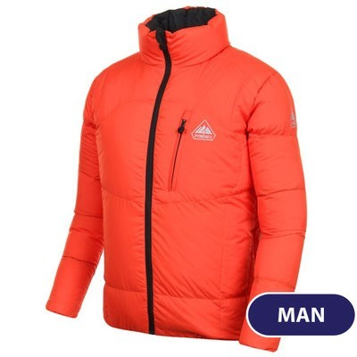 CAMP 4 VEST MEN NEGRO/NARANJA