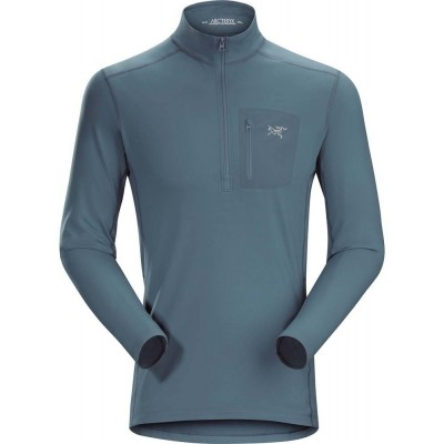 RHO LT ZIP NECK MEN'S neptune