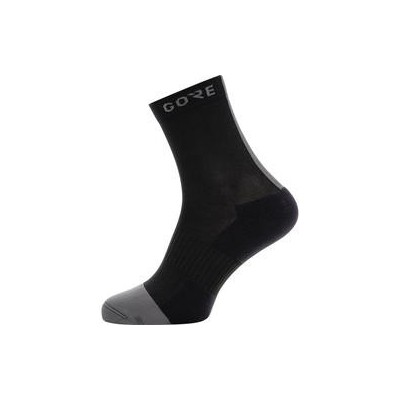 MID SOCKS Black/Graphite Grey